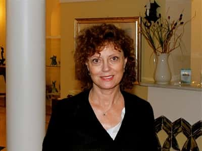Susan Sarandon in Ravello