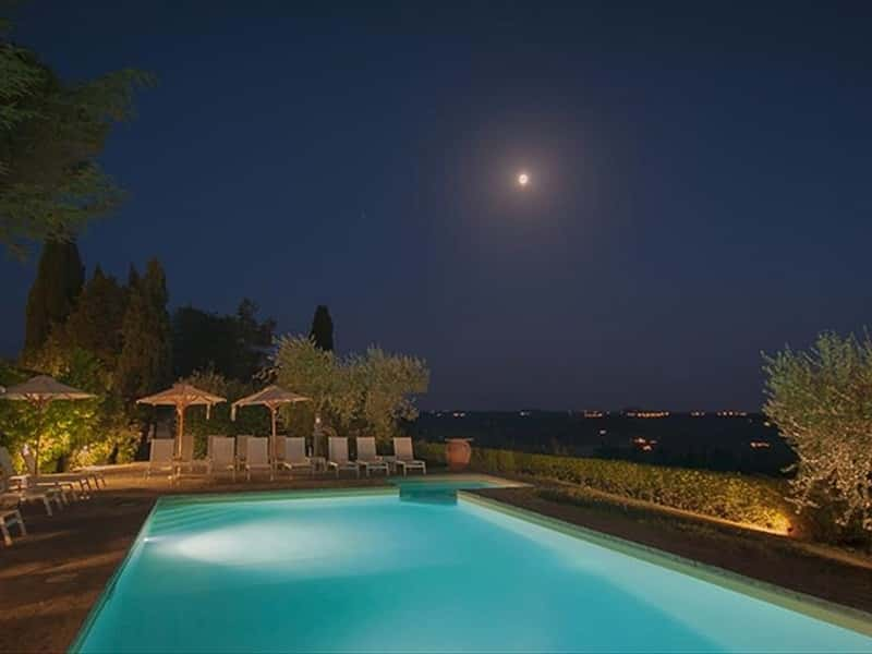 Villa I Barronci wellness resort